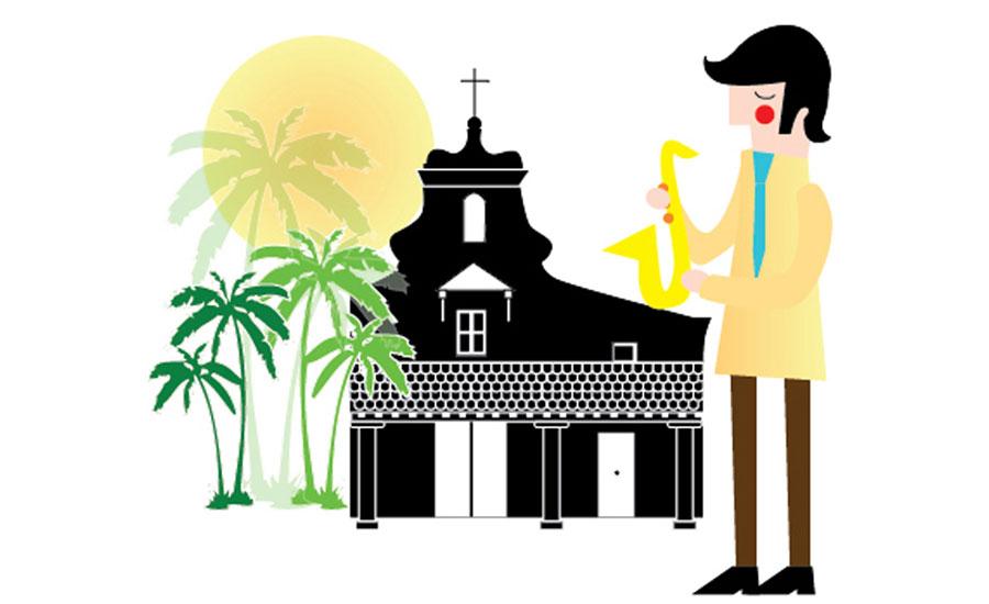ilustración - Ilustraciones mapa carnaval