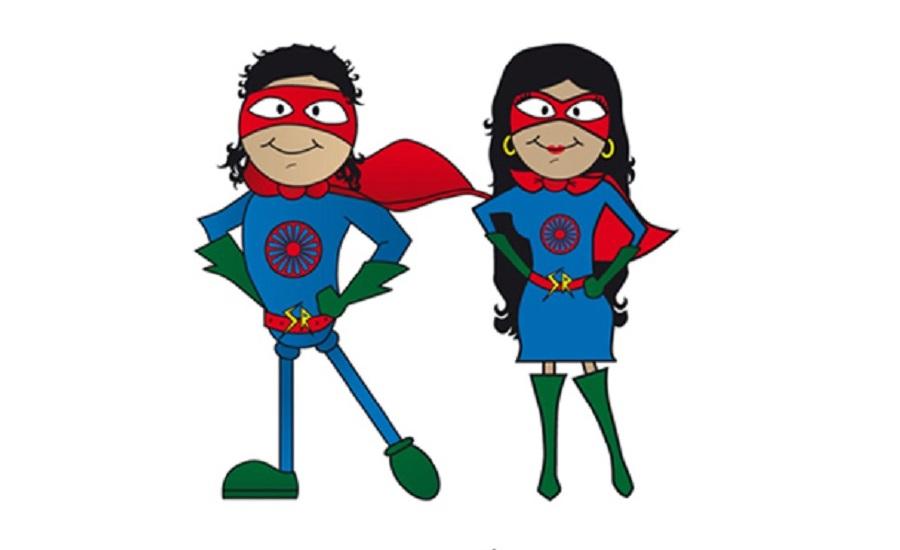 ilustración - Super Héroes Gitanos