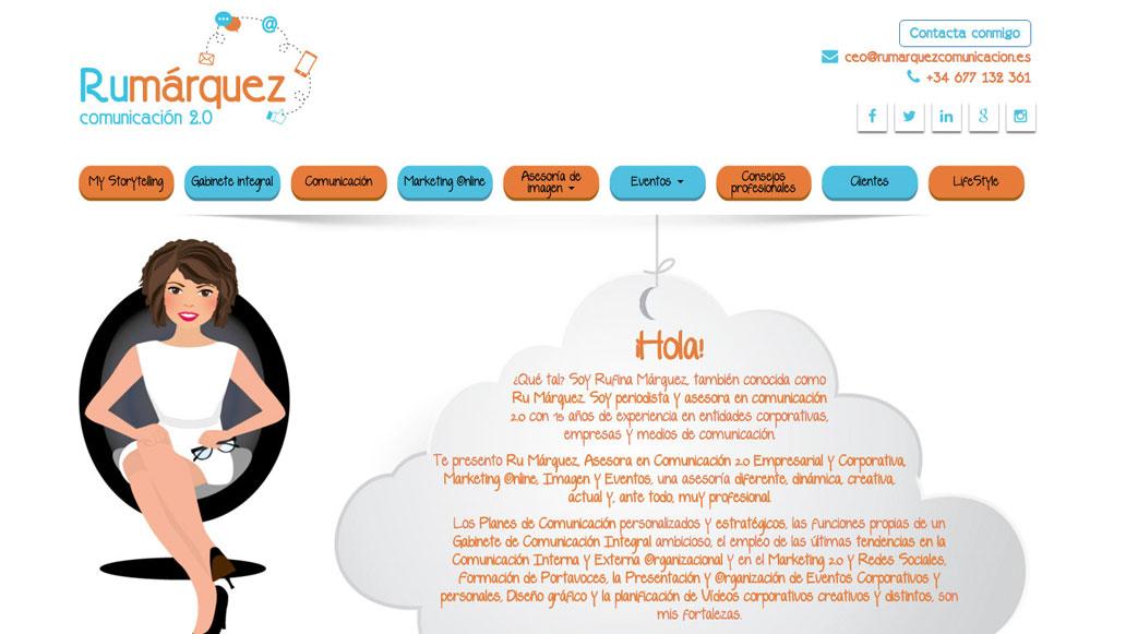 ilustración web - Web Ru Márquez