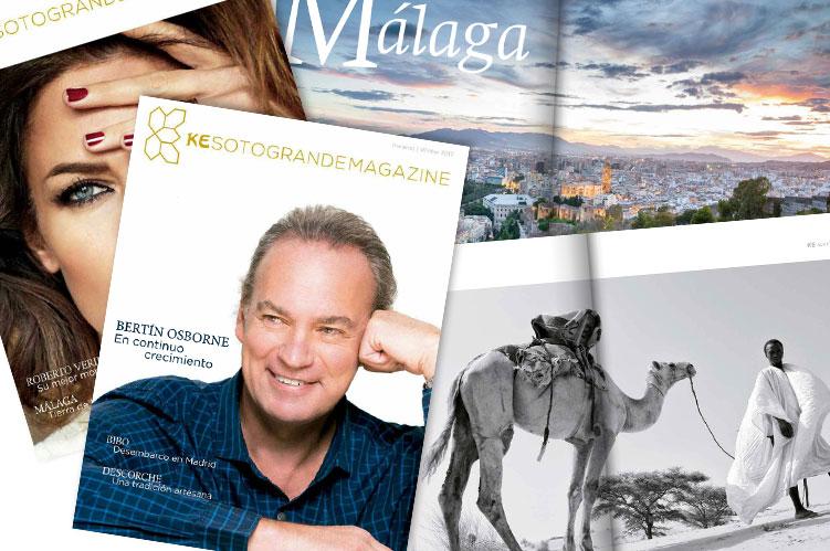 diseño-editorial - Ké magazine Sotogrande