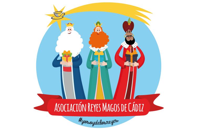 ilustración logoteca - Imagen Asociación Reyes Magos de Cádiz
